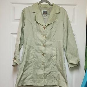 Women's Static brand raincoat